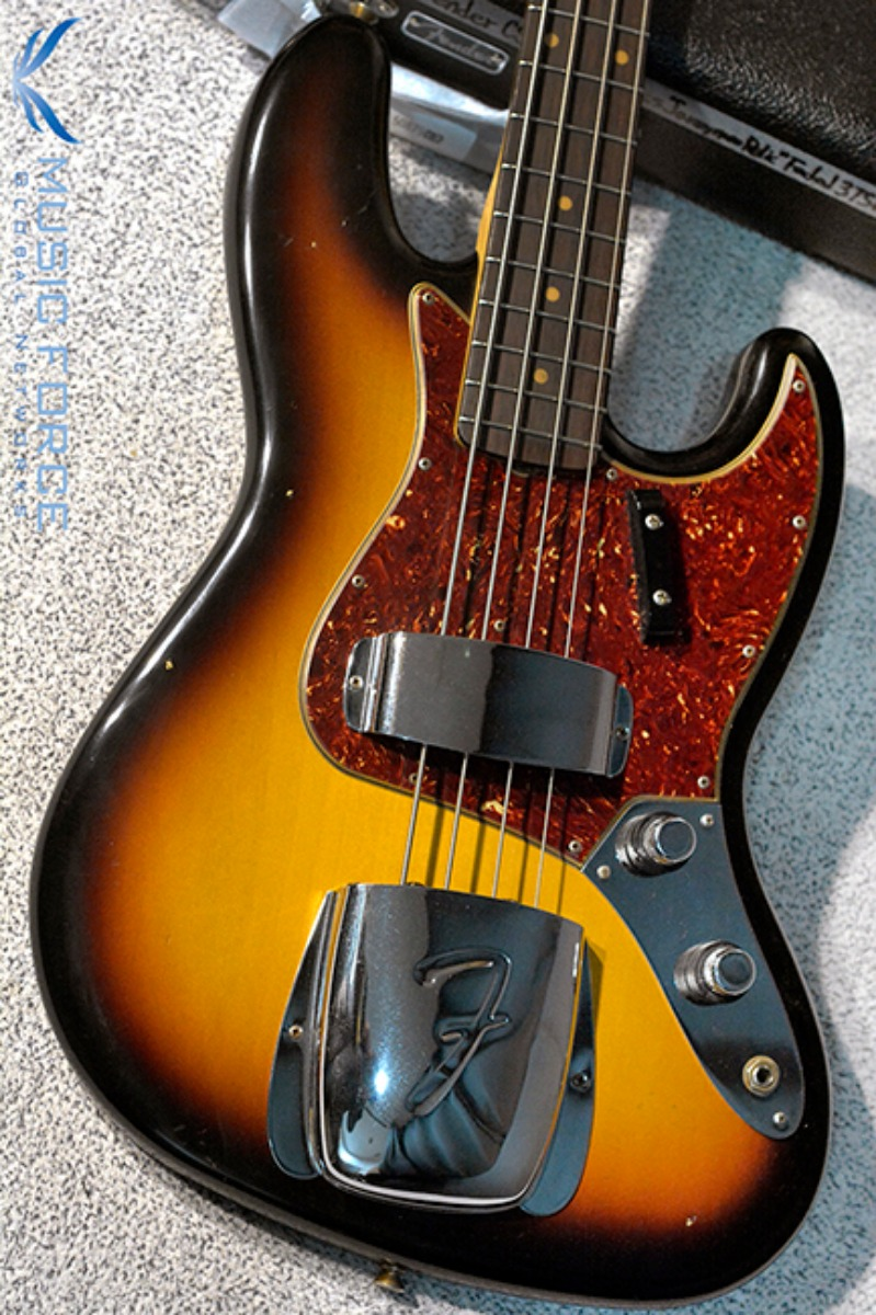 Fender Custom Shop 1960 Jazz Bass Journeyman Relic-Faded 3 Tone Sunburst(2018년산/신품)