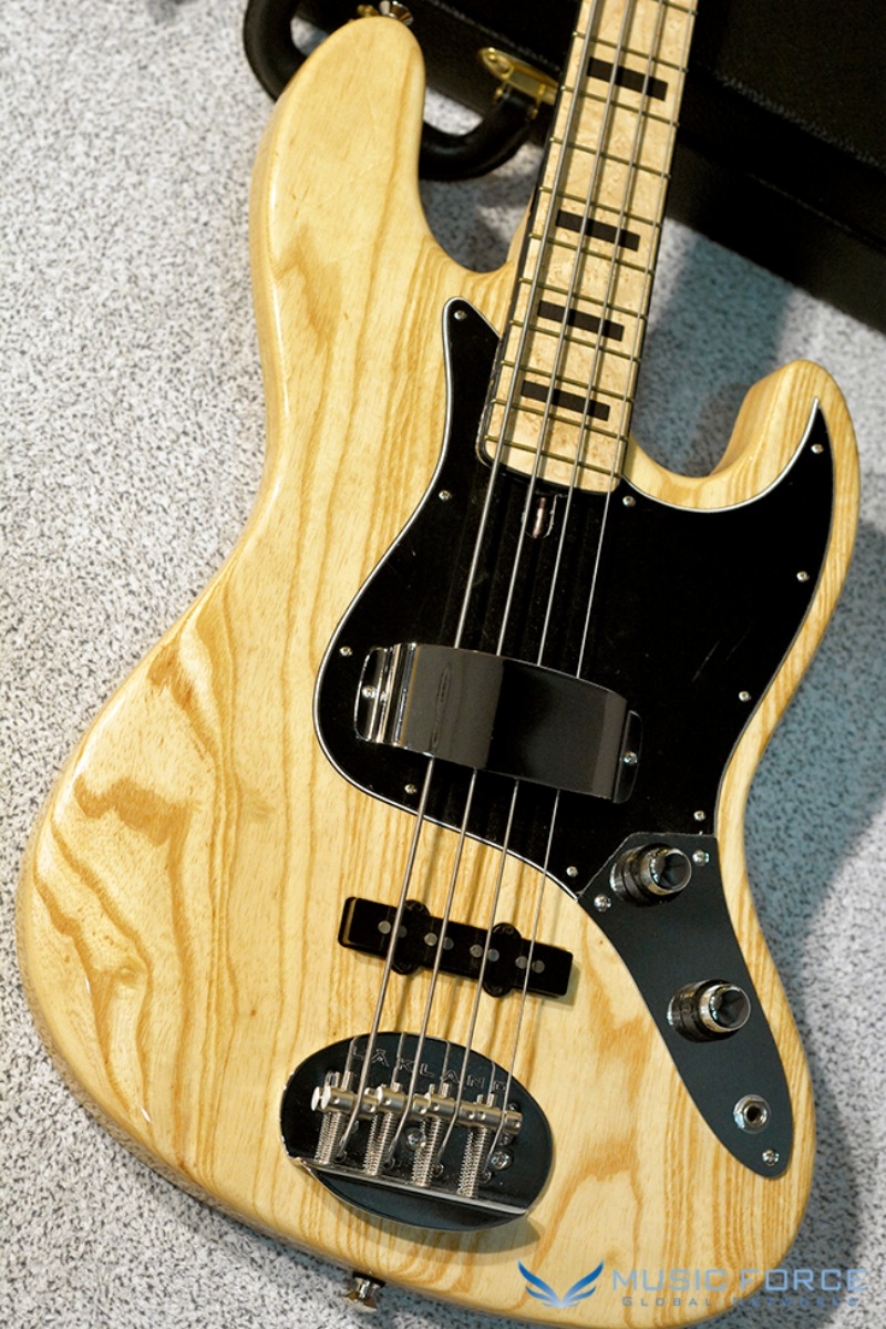 Lakland US Custom 44-60 Vintage J Bass-Natural w/Birdseye Maple FB & Ebony Blocks Inlay(2018년산/신품)