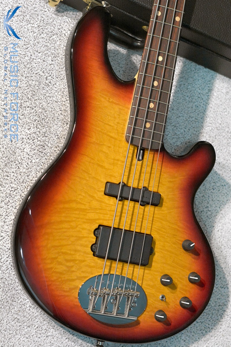 Lakland US Custom 44-94 Deluxe(Flame)-3TSB w/Indian Rosewood FB(2016년산/신품)