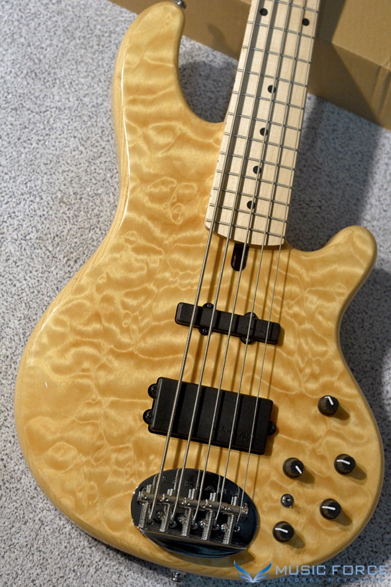 [특별세일!!!] Lakland Skyline 55-02 Deluxe QMT-Natural w/Maple FB #1(2018년산/신품)