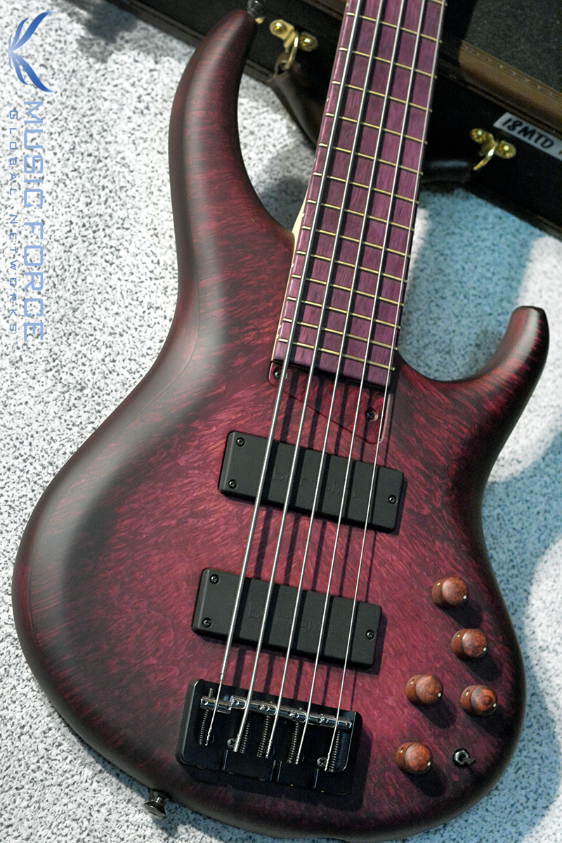 MTD US Custom Bass Andrew Gouche Signature 5-Hand Rubbed Plum Sunburst(2018년산/신품)