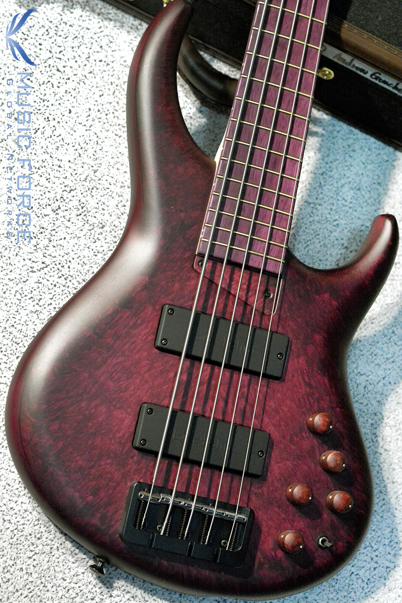 MTD US Custom Bass Andrew Gouche Signature 5-Hand Rubbed Plum Sunburst #2(2018년산/신품)