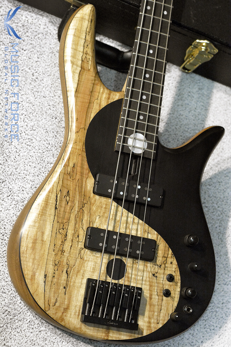 Fodera Yin Yang 4 Standard Special LTD w/Spalted Maple & Black Painted Yin Yang Top #1(2018년산/한정판/신품)