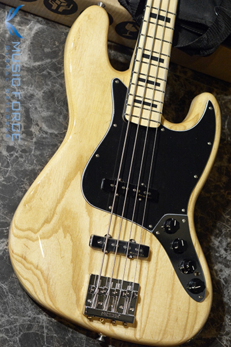 Fender Mexico Deluxe Active Jazz Bass Ash-Natural w/Maple FB(2017년산/신품) 펜더 멕시코 디럭스 엑티브 재즈 베이스