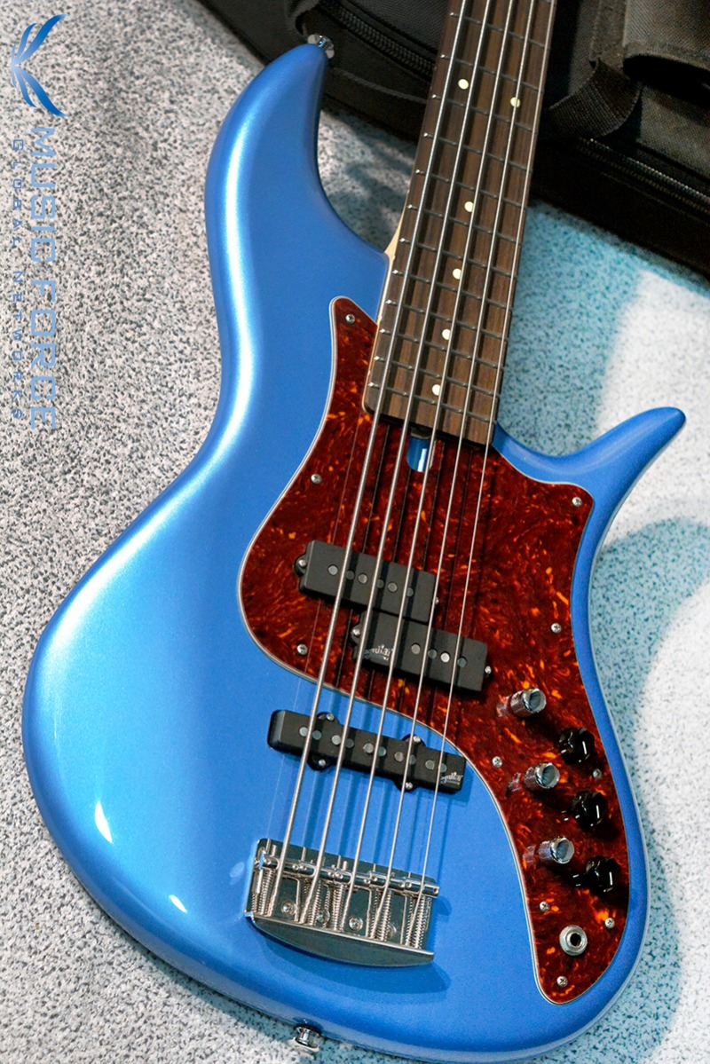 F-Bass VF5-PJ Lake Placid Blue w/Red Tortoise PG & Rosewood FB(2016년산/신품)