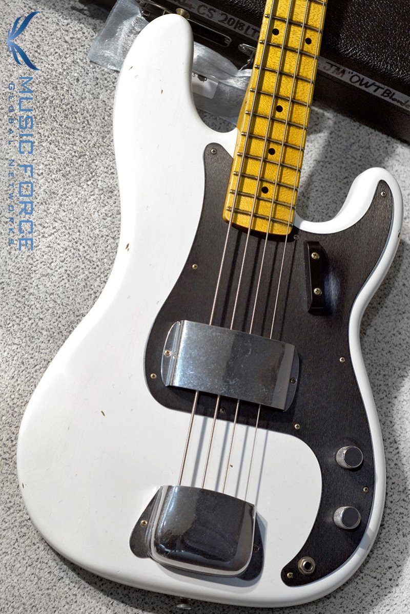 Fender Custom Shop 2018 Limited 1958 Precision Bass Journeyman Relic-Opaque White Blonde(2018년산/신품)