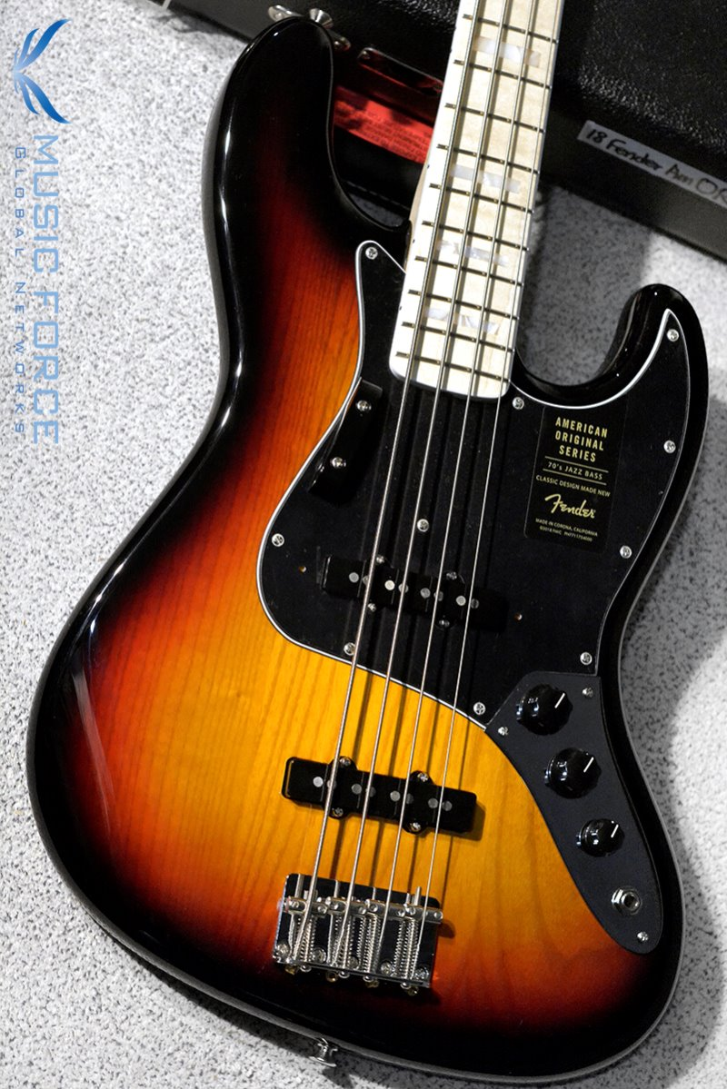 Fender American Original 70s Jazz Bass-3TSB w/Maple FB(2018년산/신품) 펜더 오리지널 70s 재즈 베이스