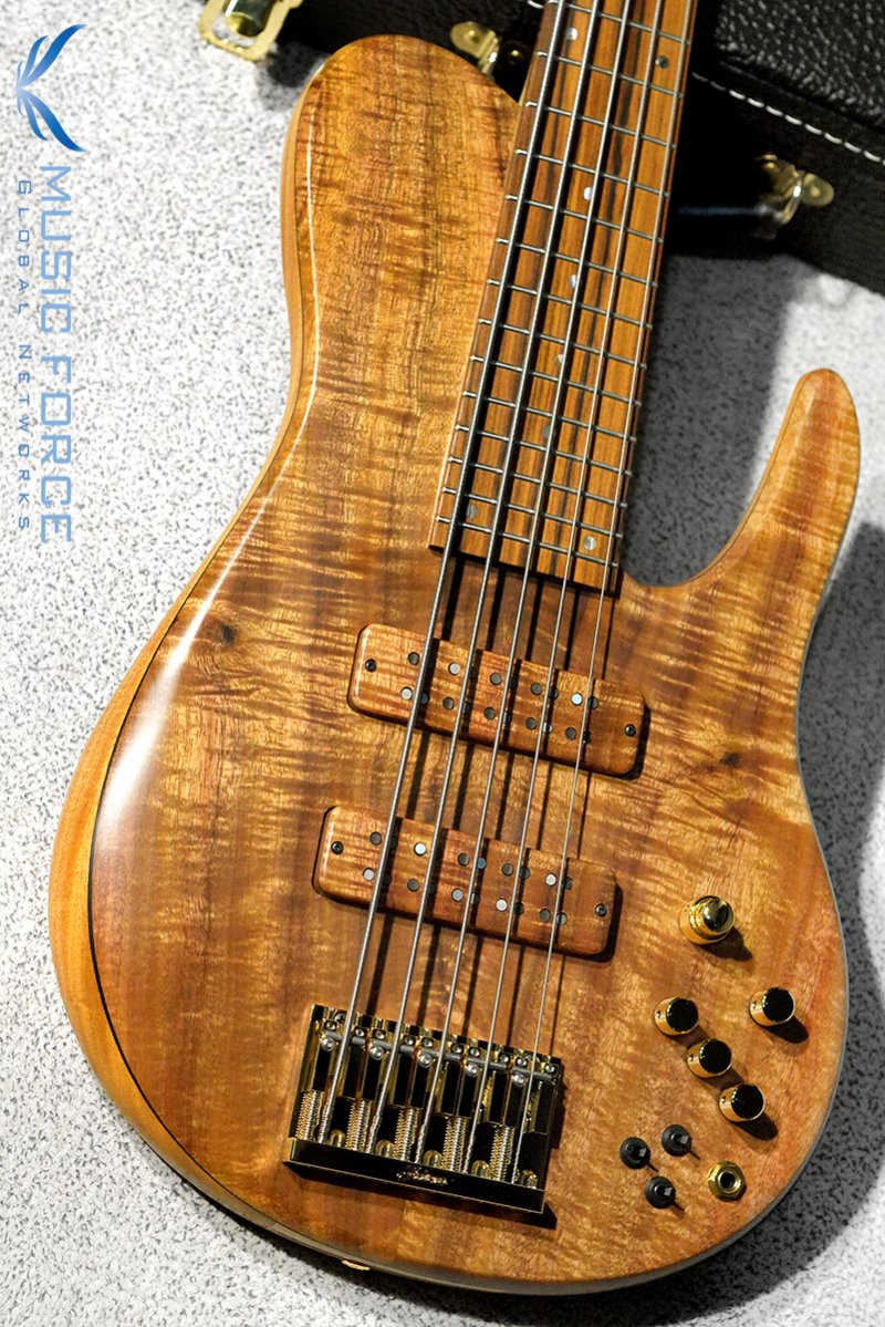 Fodera Custom Imperial Elite 5 MG Shape-Figured Koa Top w/Pau Ferro FB(2019년산/신품)
