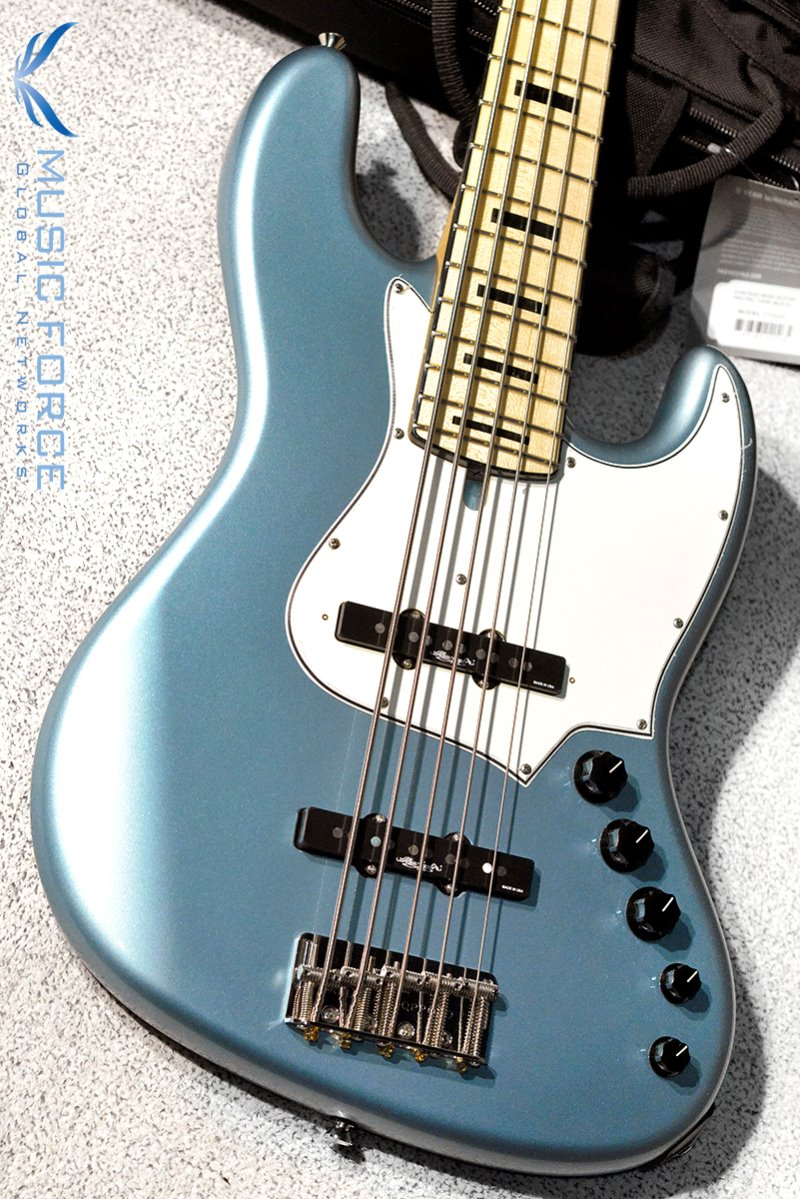 Alleva Coppolo RA5 Standard Alder Body-Ice Blue Metallic w/Maple FB & Black Pearloid Block Inlay(2019년산/신품)