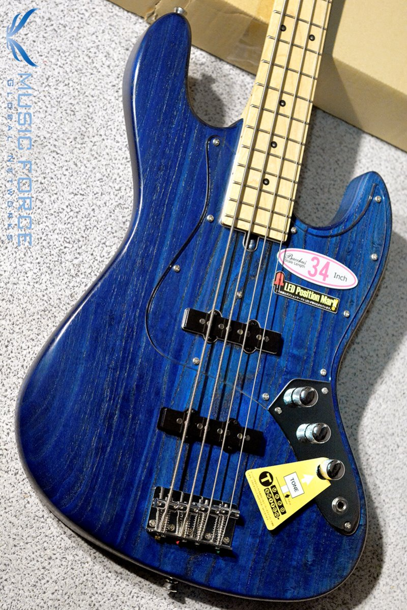 Bacchus Global Series WL-434 Ash LED-Blue/Oil w/Maple FB (2019년산/신품)