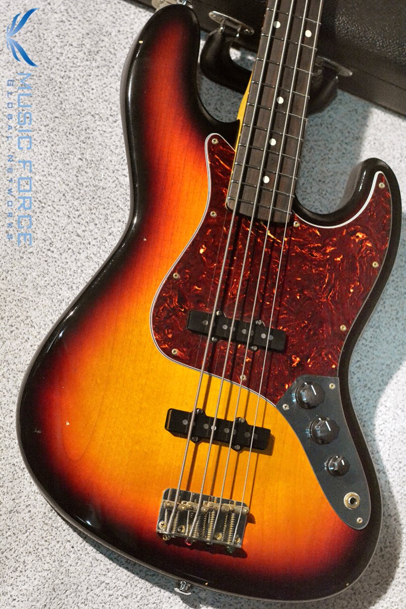 [이월상품창고대방출!!!] Suhr Classic J Antique Bass(Pro-Series)-3 Tone Burst w/Tortoise PG & Hard Case(2015년산/신품)