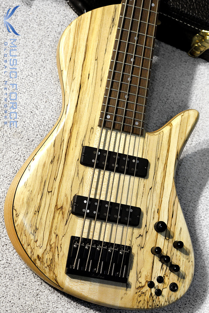 Fodera Emperor II Elite Select 5-Spalted Maple Top(신품)