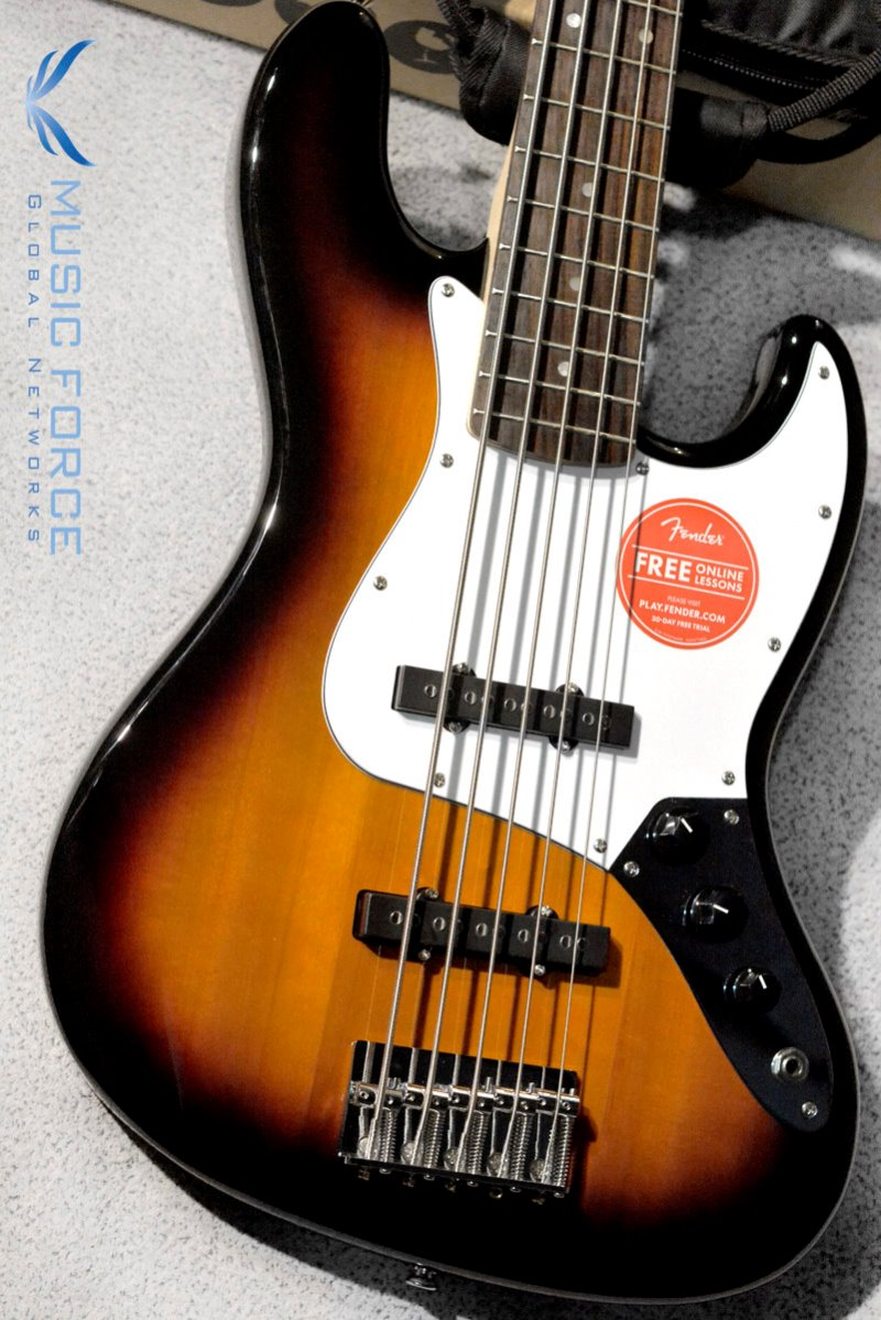 Squier Affinity Jazz Bass V-Brown Sunburst w/Rosewood FB (2017년산/신품)