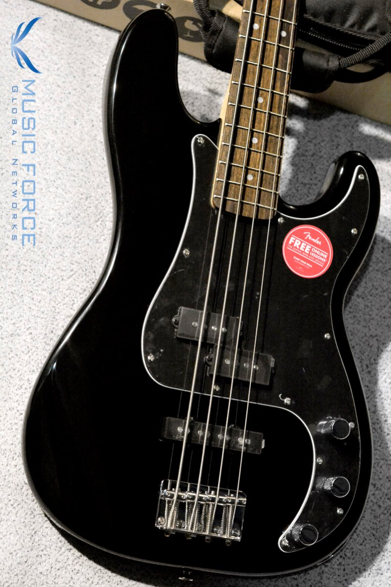 Squier Affinity Precision Bass PJ-Black w/Indian Laurel FB (2019년산/신품)