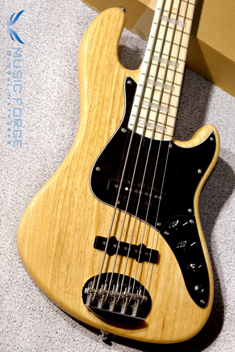 Lakland Skyline Darryl Jones Signature DJ-5 Natural w/Maple FB(2019년산/신품)