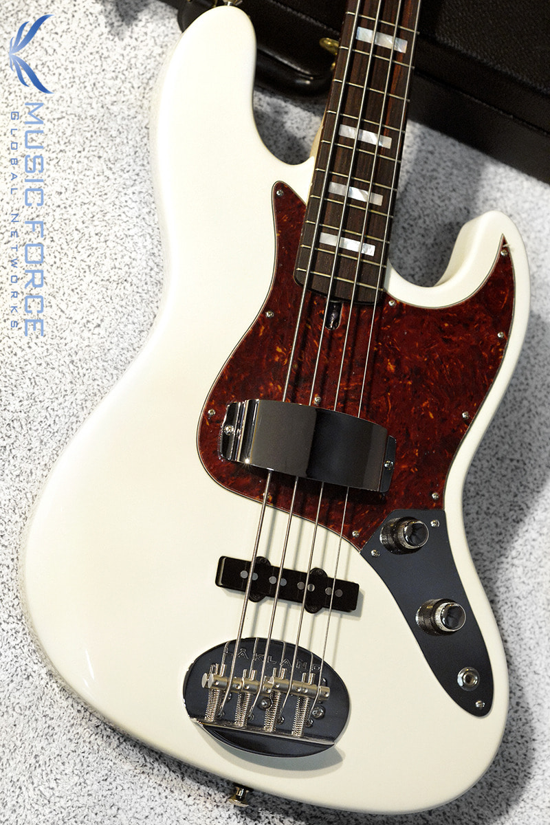 [특별세일] Lakland US Custom 44-60 Vintage J Bass-Olympic White w/Rosewood FB, Pearl Block Inlay & Matching Headstock(2018년산/신품)