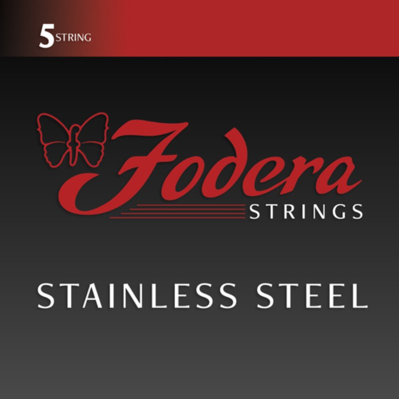Fodera Handmade Bass Guitar String Stainless Steel 5 String(45-125)(Extra Long)