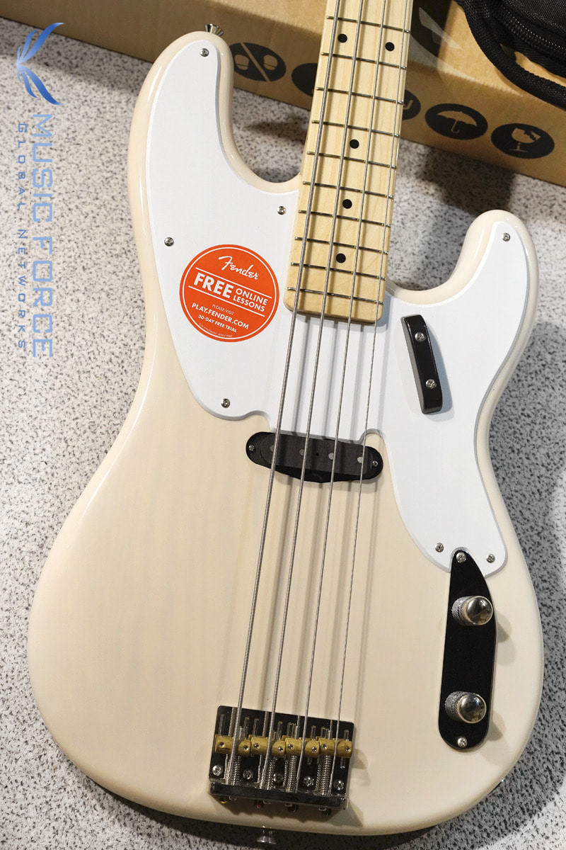 [특별세일] Squier Classic Vibe 50s Precision Bass-White Blonde w/Maple FB (2019년산/신품)