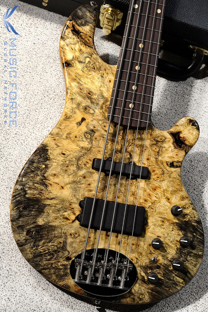 Lakland US Custom 55-94 Deluxe-Buckeye Burl Top w/Flame Maple Neck & Rosewood FB(2019년산/신품)