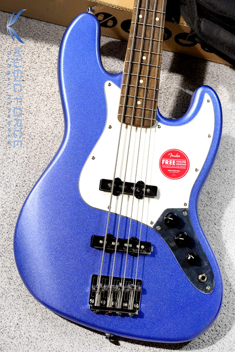 Squier Contemporary Jazz Bass-Ocean Blue Metallic w/Indian Laurel FB (2019년산/신품)