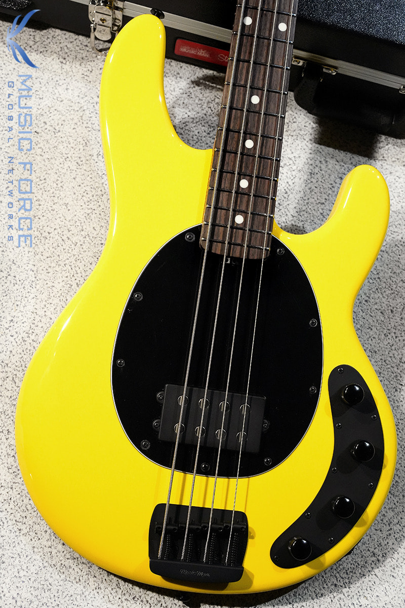 Musicman Stingray 4 Special-HD Yellow w/Roasted Maple Neck & Rosewood FB(신품)