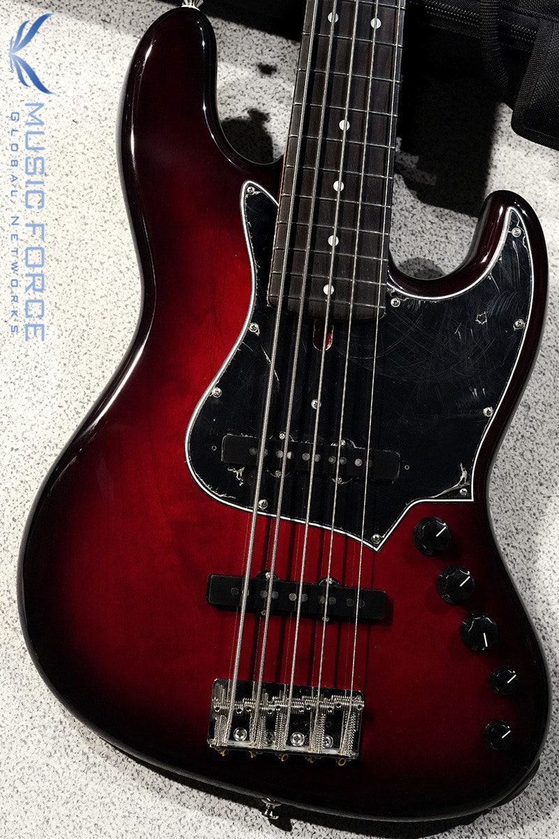 Alleva Coppolo LG5 Standard Alder Body-Wine Red Burst w/Indonesian Rosewood FB(2020년산/신품)