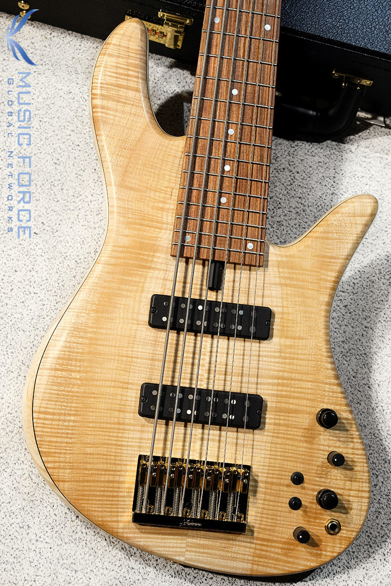 Fodera Emperor 6 Standard w/Bi-Color(2-Tone) Flame Maple Top(2020년산/신품)