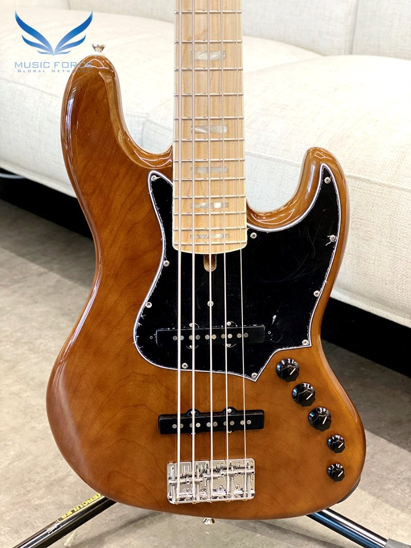 Alleva Coppolo LM5 Deluxe Ash Body-Walnut w/Maple FB, Block Inlay & Binding (2020년산/신품)