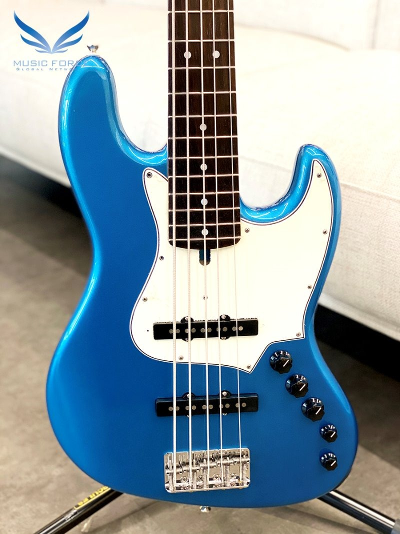 Alleva Coppolo LG5 Standard Alder Body - Lake Placid Blue w/Indonesian Rosewood FB & Matching Headstock (2020년산/신품)